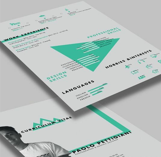 free artistic resume template - Creative Resume Template Download Free