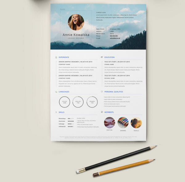 Do You Have Cool Hobbies Try This Showcase For Your Extracurriculars Free Minimalist Template