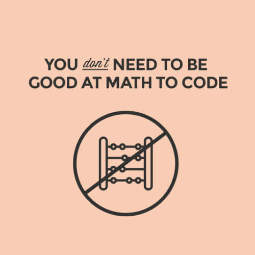 Do I Need to Be Good at Math to Code?