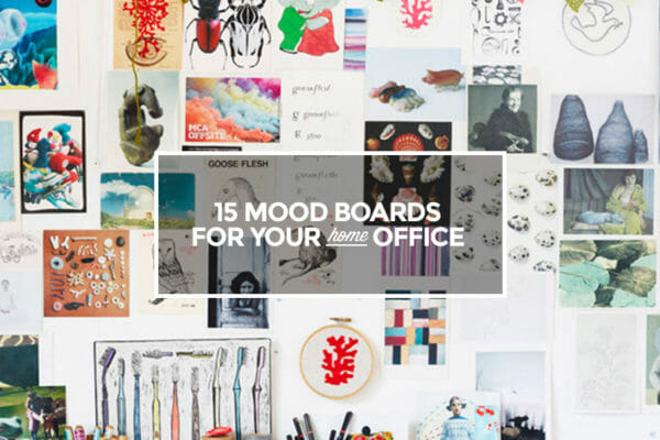 15 moodboards for home office