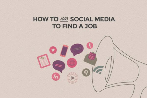 find a job using twitter facebook or linkedin