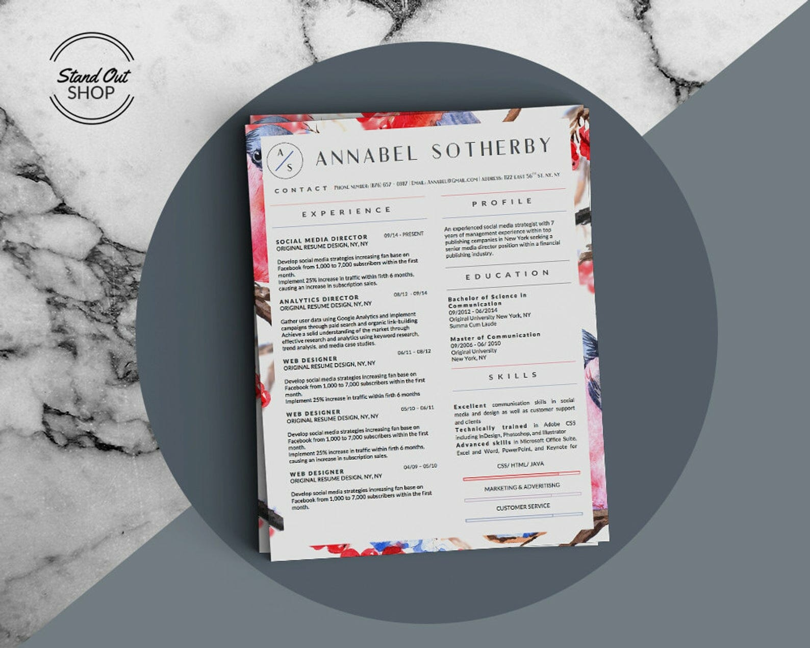 25+ Free Resume Templates for Microsoft Word (That Don't