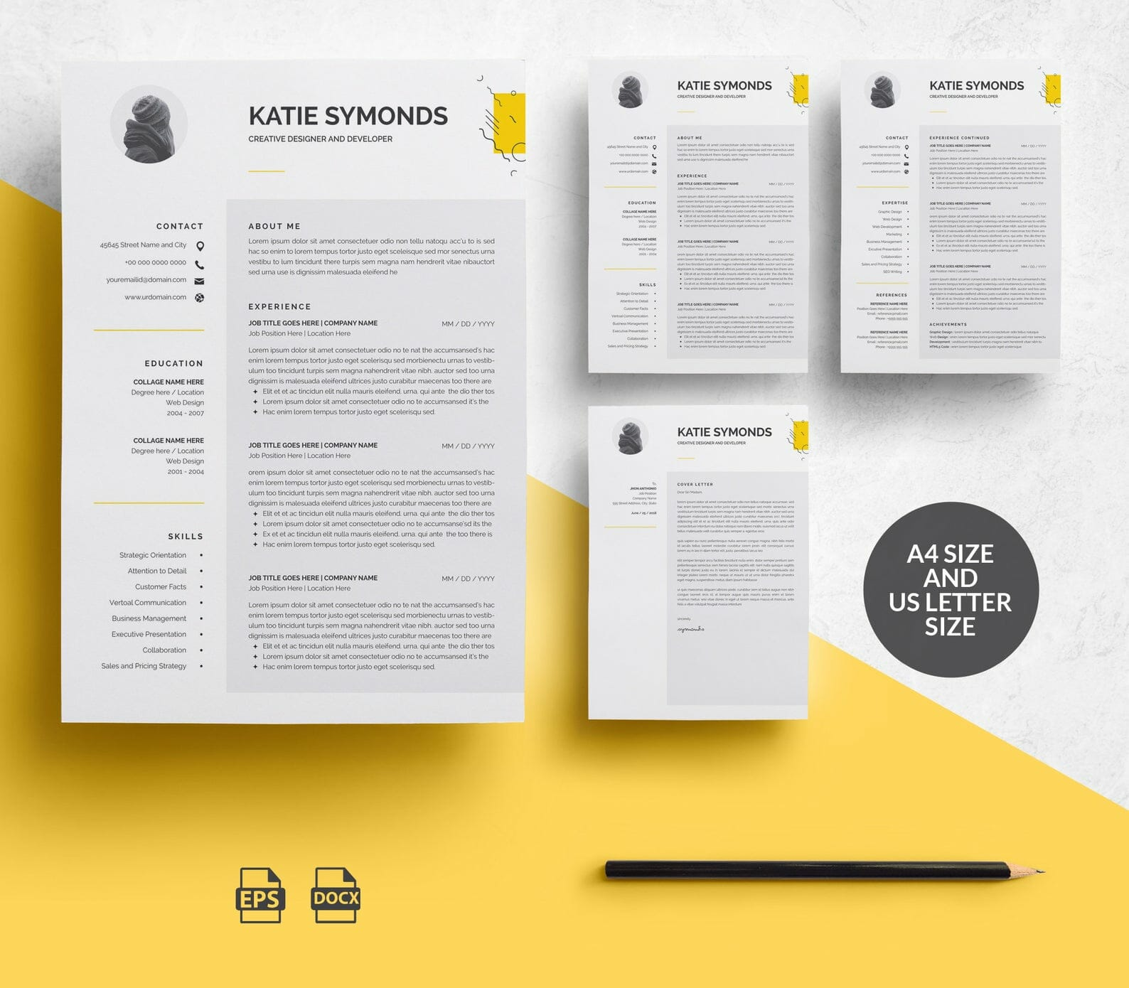 25+ Free Resume Templates for Microsoft Word (That Don\'t Look Like Word)