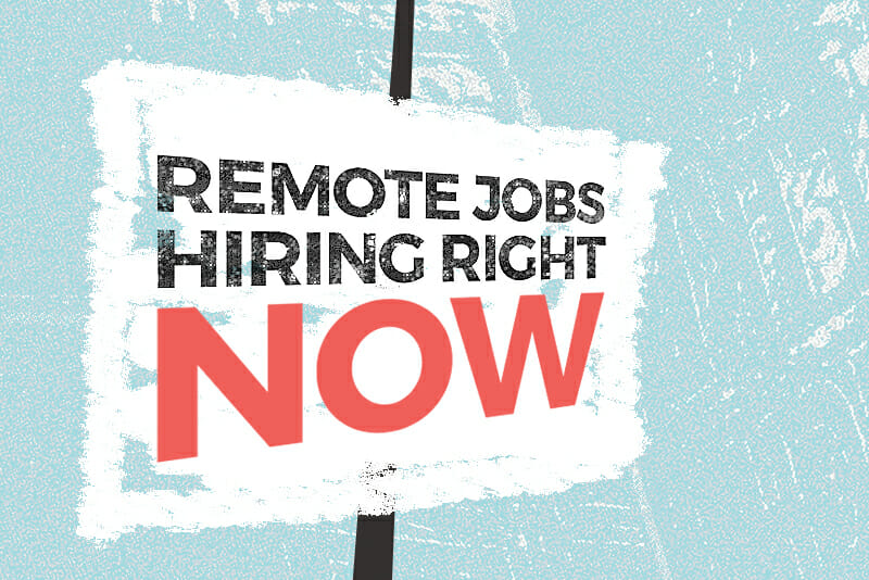 remote jobs hiring now
