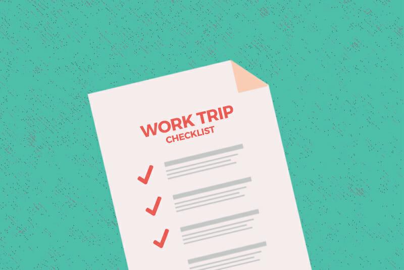 digital nomad travel checklist