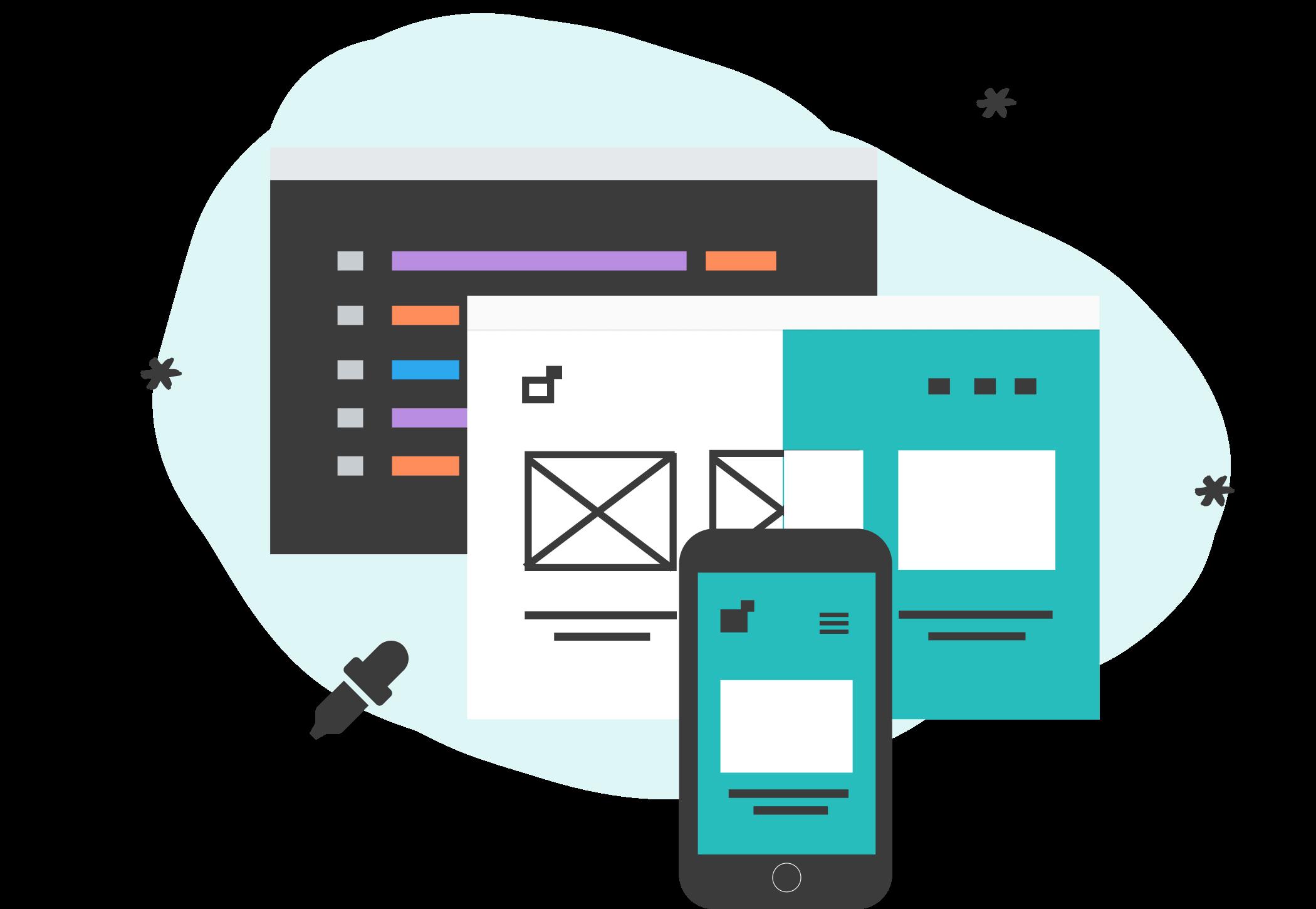Coding Responsive Websites Icon