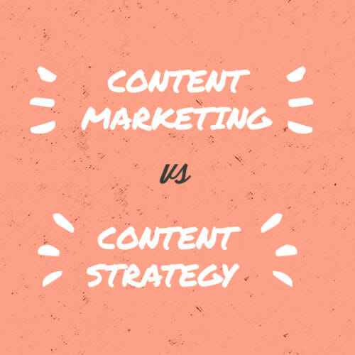Tech 101: Content Marketing Versus Content Strategy—What's the Diff?