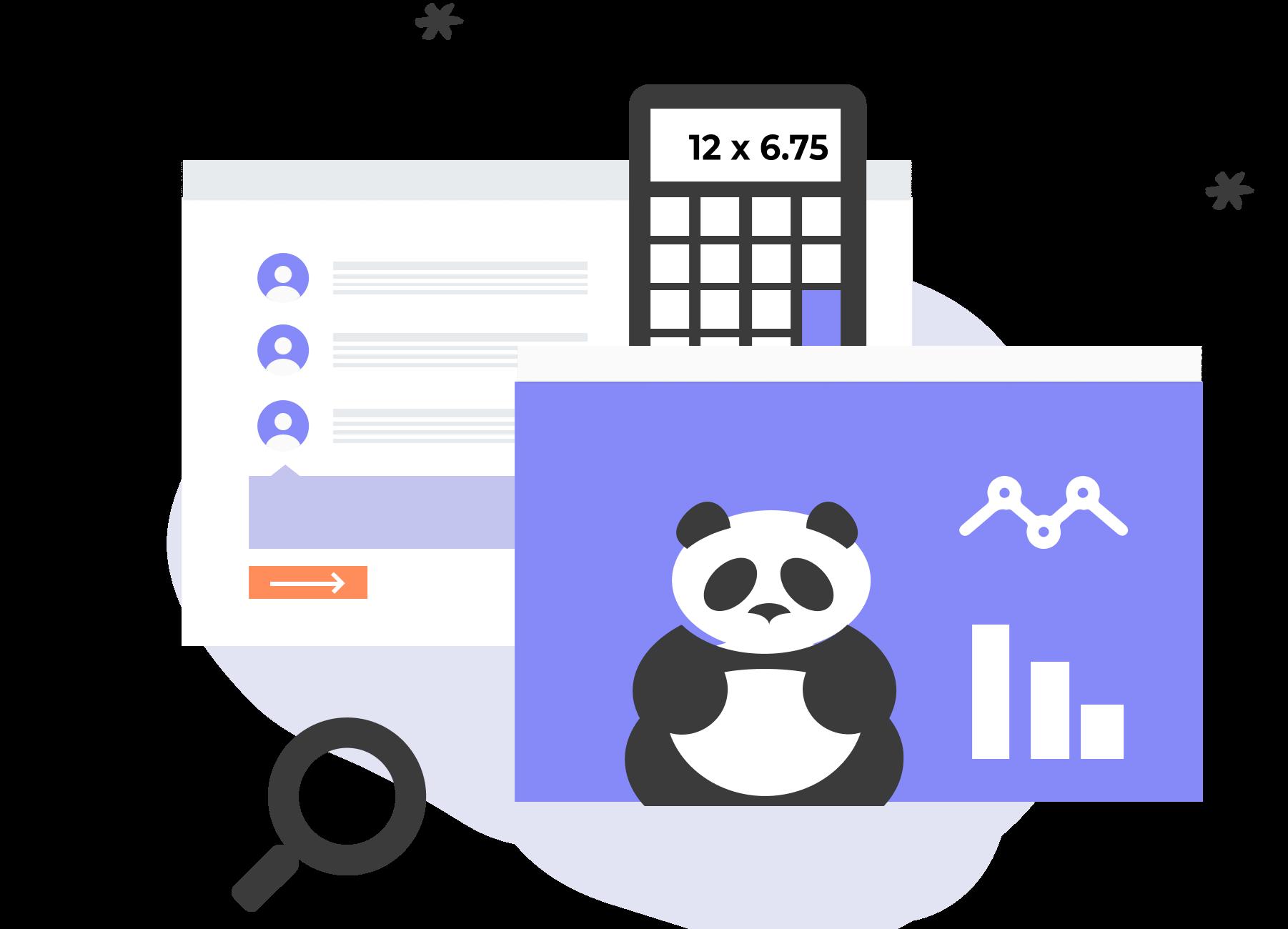 Preparing & Displaying Data with Python Icon