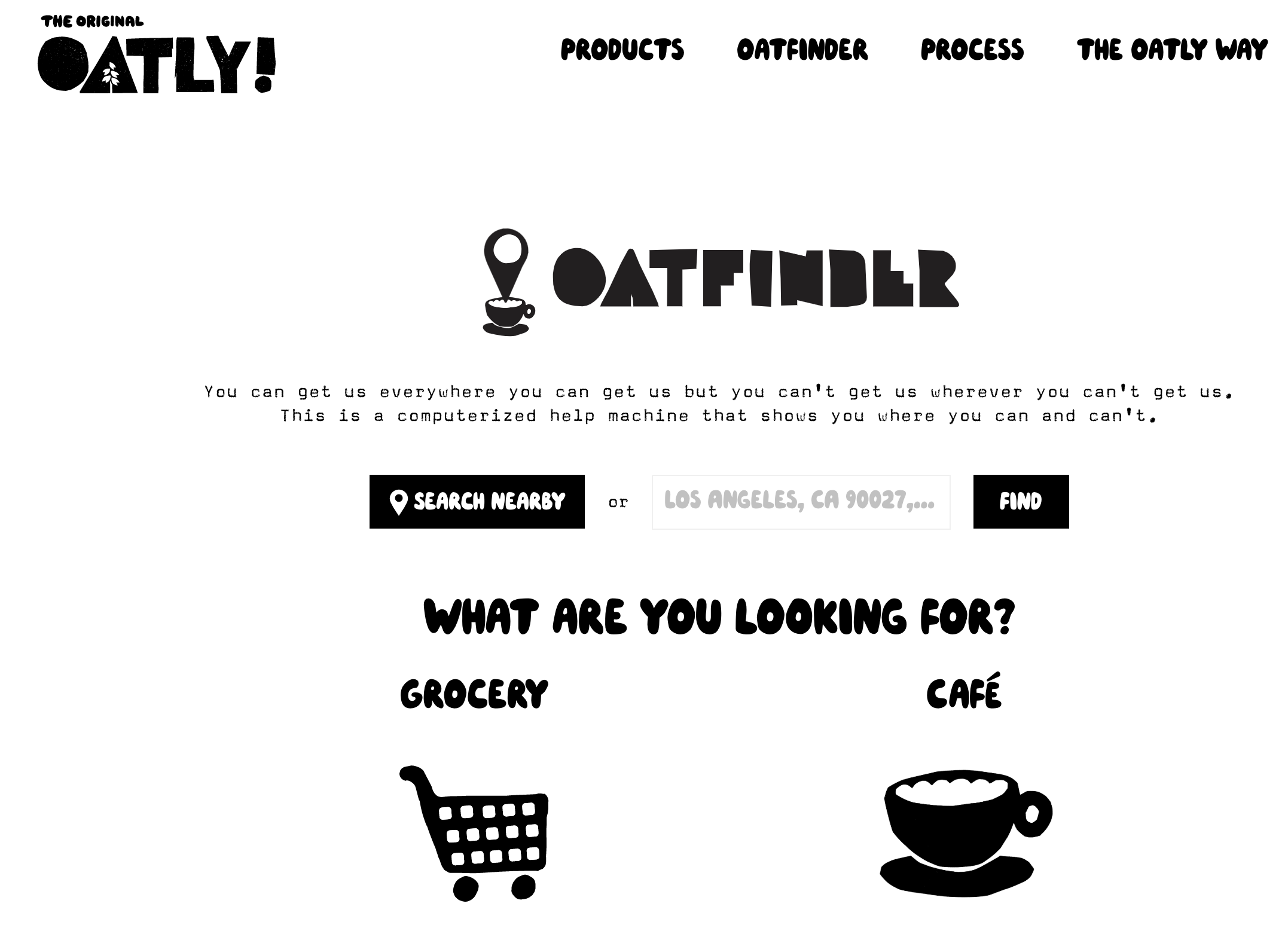 A clever microcopy example from Oatly