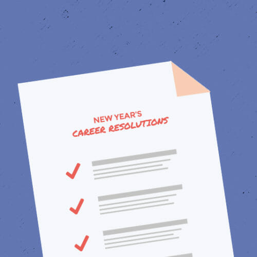 New Year's Career Resolutions Checklist