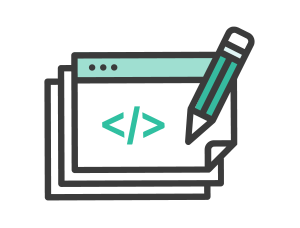 HTML & CSS Icon