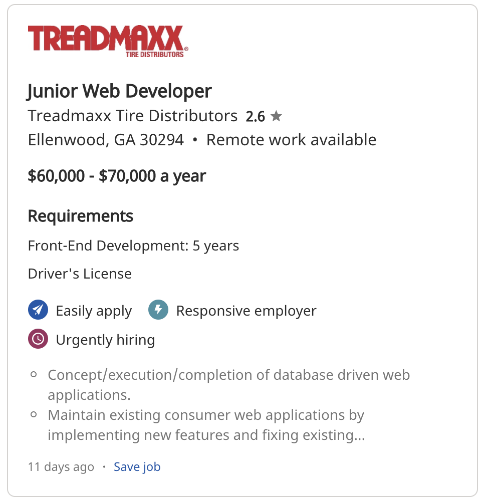 find an entry-level job in tech