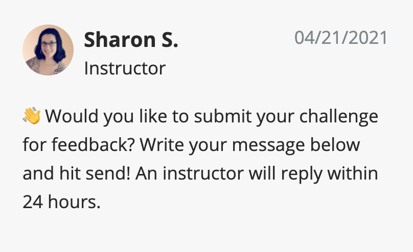 instructor feedback submission window