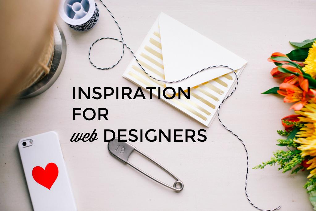 Inspiration for web designers