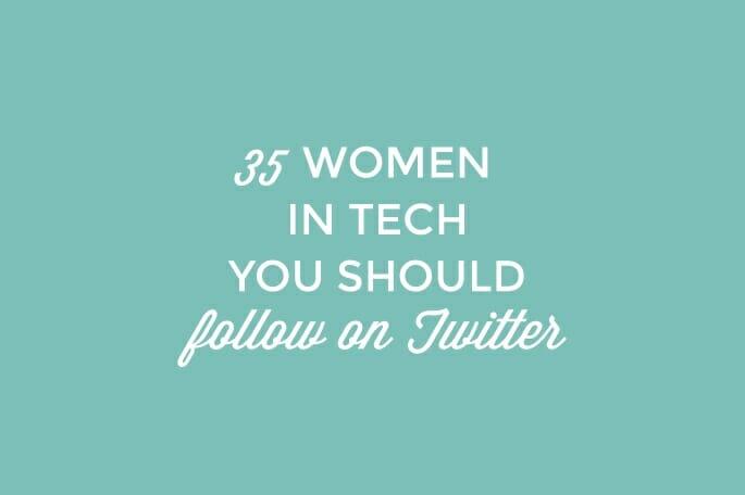 Tech Women Twitter