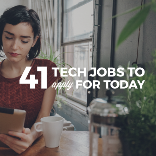 41 Job Titles in Tech. Which one will be yours?