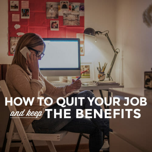 14 Ways to Stop Relying on Job Benefits (and why you should)