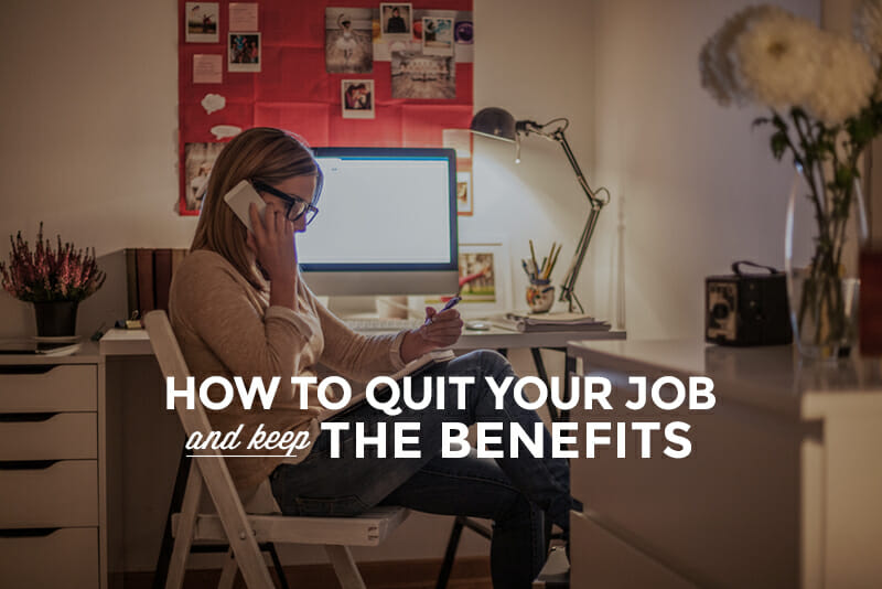 Job without benefits