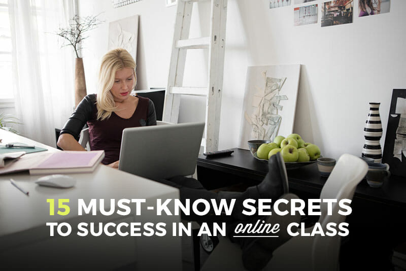 Secrets to Success in Your Online Class
