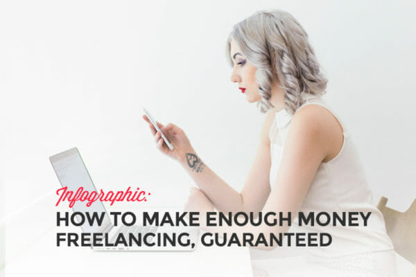 Infographic: How to make more money freelancing