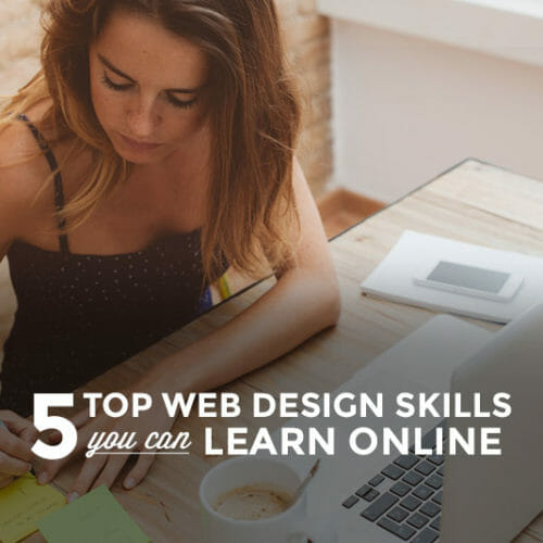 5 Web Design Skills You Can Master Online
