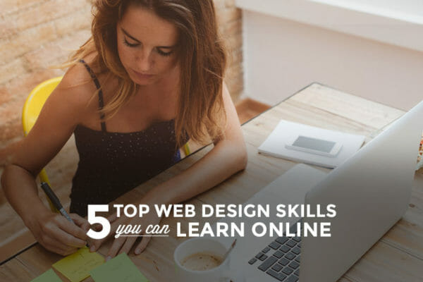 Top 5 Web Design Skills You Can Learn Online