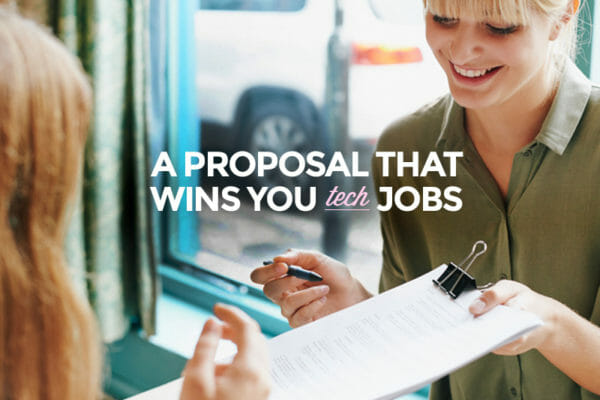 Want an awesome job? Then follow these steps to a great proposal!