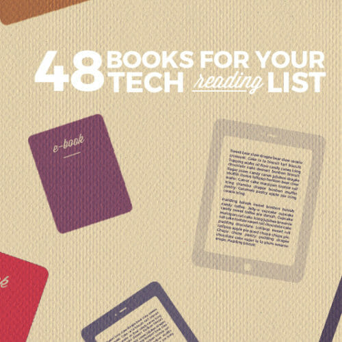 48 Books to Add to Your Tech Reading List for 2016