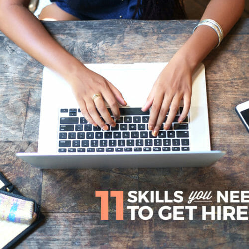 Infographic: 11 Skills You Need to Get Hired as a Developer