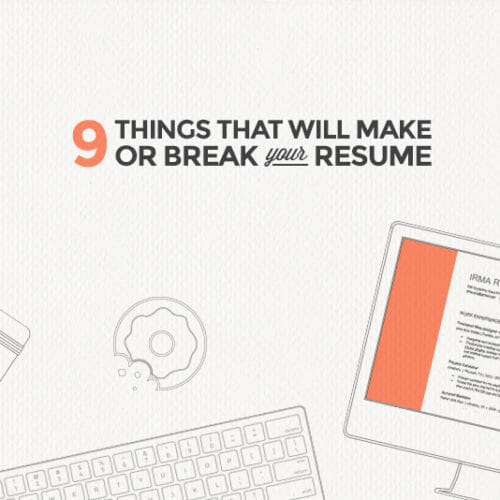 9 Rookie Mistakes That Will Ruin Your Resume