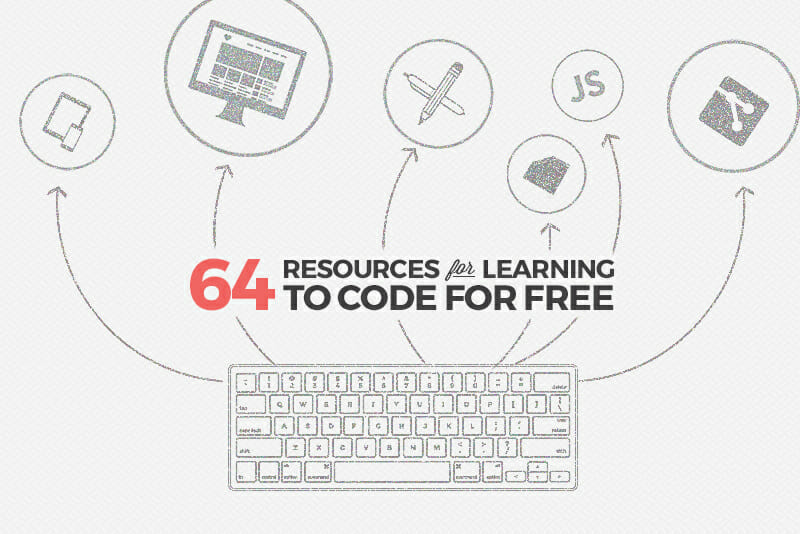 64 Resources for Learning to Code for Free