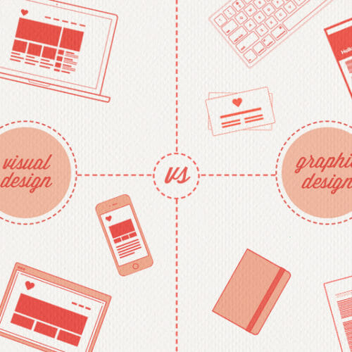 Visual Design vs. Graphic Design: What's the Difference?
