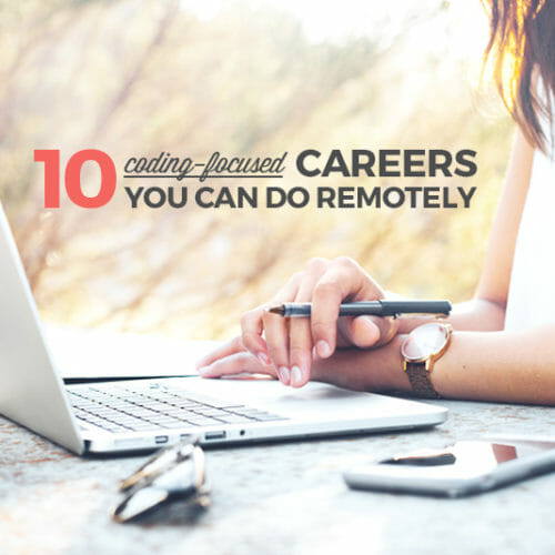 10 Coding Careers You Can Do Remotely