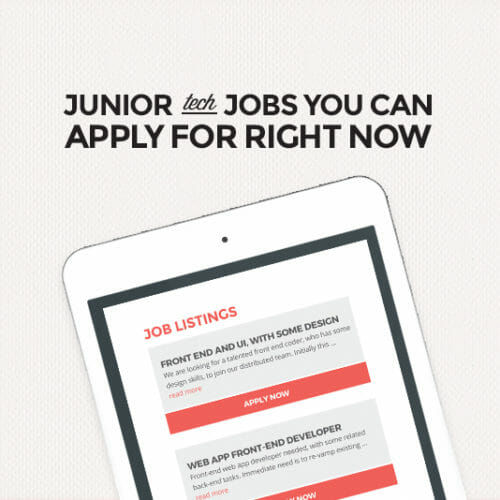 New to Tech? Here are 44 Beginner Jobs You Can Apply For Now