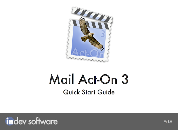 """Mail Act-On Quick Start Guide"""