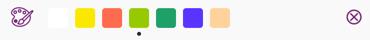 Entering Colour Tag