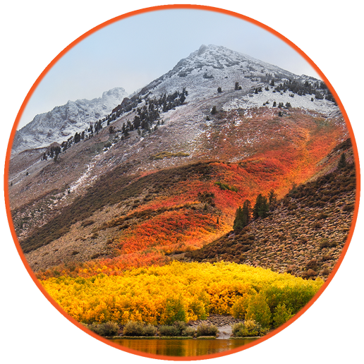 High Sierra Icon