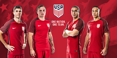 U.S. Soccer introduces new red national team uniform 02 15 2017 5b964f77a