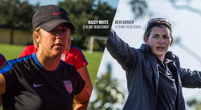 248363e7338 U.S. Soccer names new women s youth national team coaches -- Kacey ...