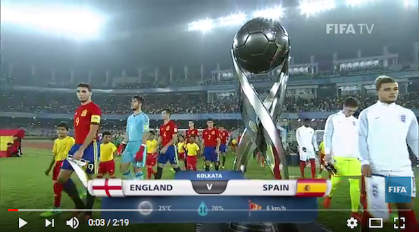 c8788d3b872 Watch  England spectacularly beat Spain in U-17 World Cup final 10 ...