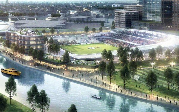Report New Riverfront Chicago Stadium On Drawing Board