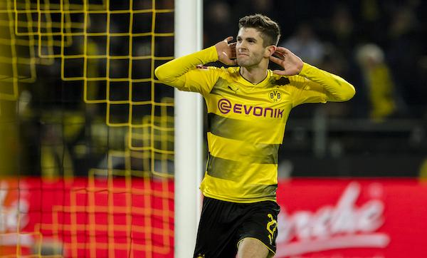 Tottenham could turn their interest to Christian Pulisic