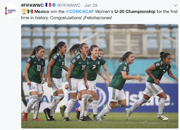 Mexico s women s and girls teams have relied much on USA-born Mexican-American  players . a33d543b2