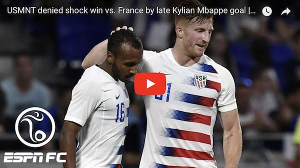 France-USA Men's International Friendly Player Ratings 06/09/2018