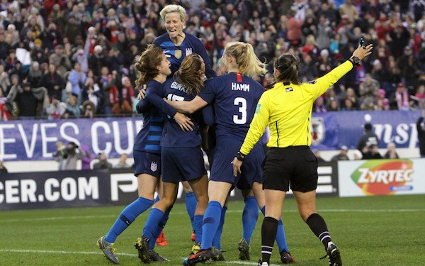 USWNT lawsuit: 28 players sue U.S. Soccer for gender discrimination