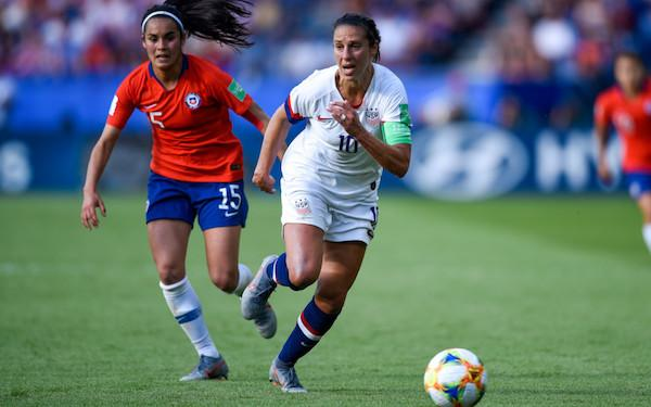USA-Portugal: Morgan, Rapinoe, Lavelle out for Victory Tour