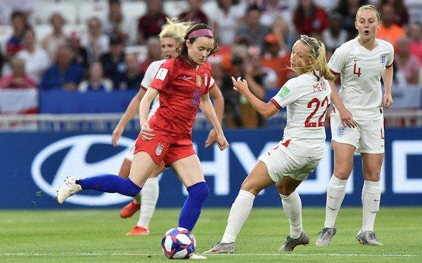Rose Lavelle shows off her backyard skills on soccer's biggest stage 07/06/2019