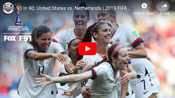 watch highlights and celebrations of the 2019 women s world cup final