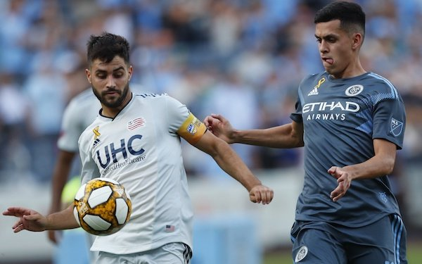 New York City FC takes command in Eastern Conference 09/08/2019