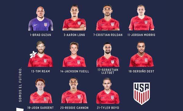 USA-Uruguay: Men's Friendly Player Ratings 09/11/2019